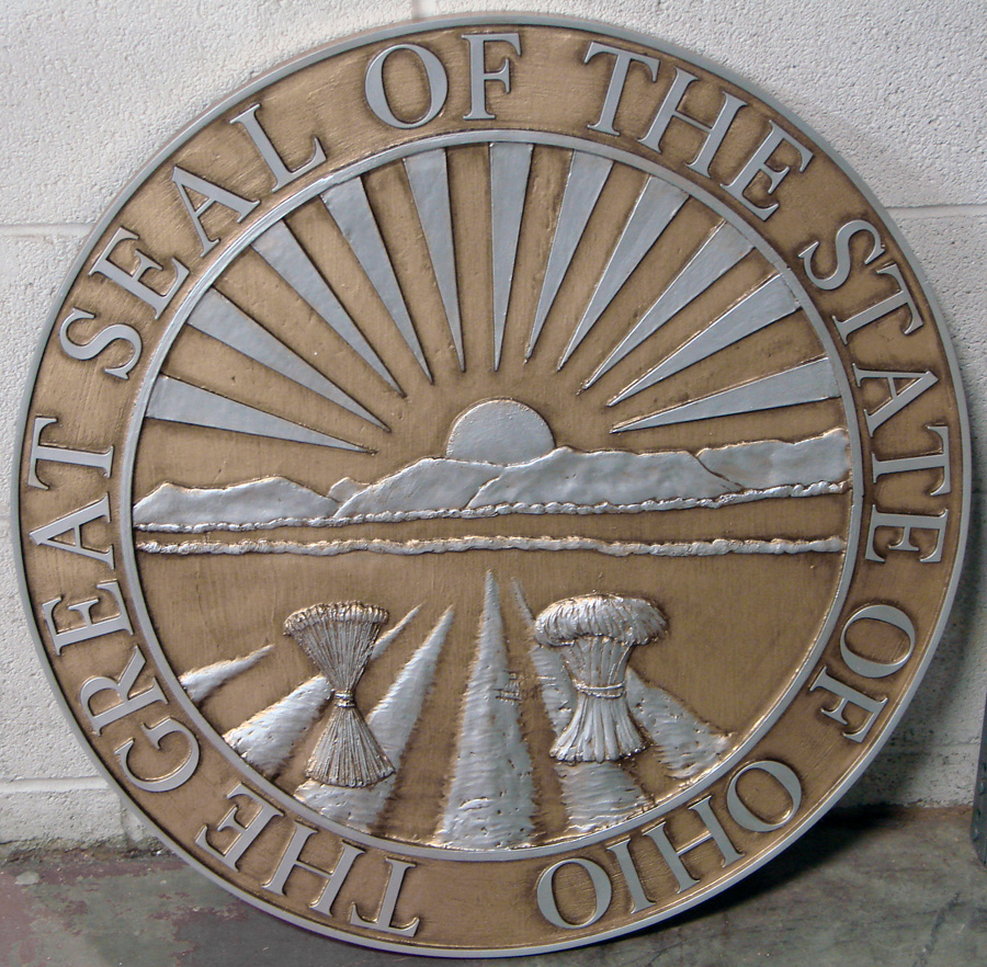 Robert huff designs 24 state seals for Oh design